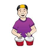 Team Drummer Dave Gould