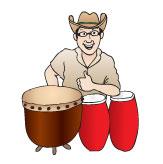 Team Drummer J.D. Katz