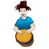 Team Drummer Liam Epps