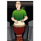 Team Drummer Josh Issenman