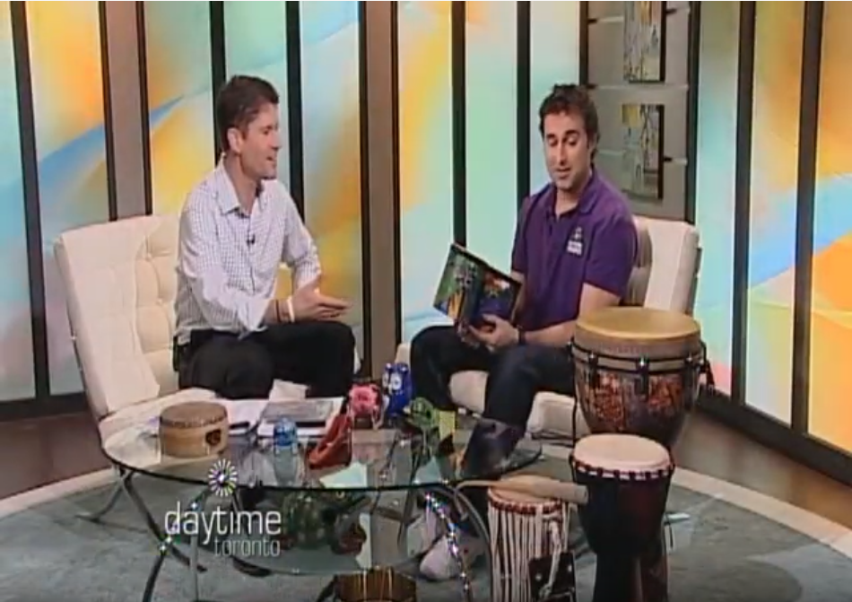 Mystic Drumz on Day Time TV